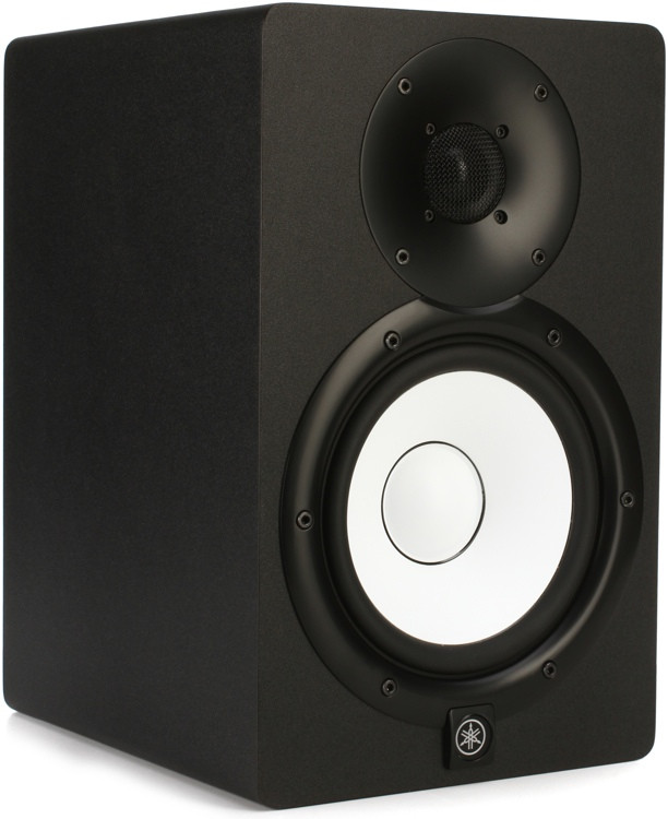 yamaha hs7 6 5 powered studio monitor black sweetwater. Black Bedroom Furniture Sets. Home Design Ideas