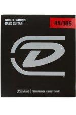 Dunlop DBN45105 Nickel Plated Steel Medium Bass Strings