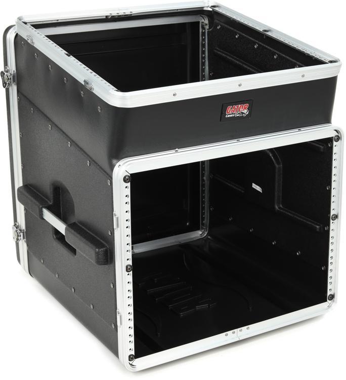 Gator GRC-10X8 - 10U Top, 8U Side Console Audio Rack image 1