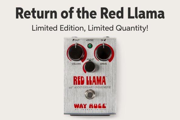 Return of the Red Llama Limited Editioni Limited Quantity! Fan mvoc mtw A 0 AL