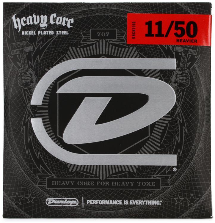 Dunlop DHCN1150 Heavy Core NPS Electric Strings - .011-.050