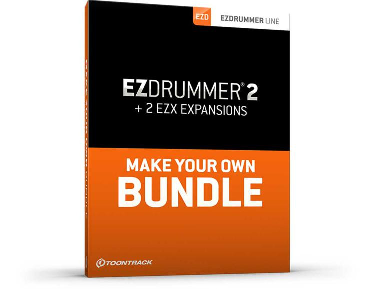 Toontrack EZdrummer 2 Bundle with 2 EZX Libraries image 1