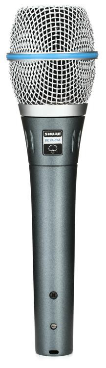 Shure Beta 87A Handheld Condenser Microphone image 1