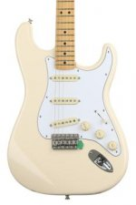 Fender Jimi Hendrix Stratocaster - Olympic White with Maple Fingerboard