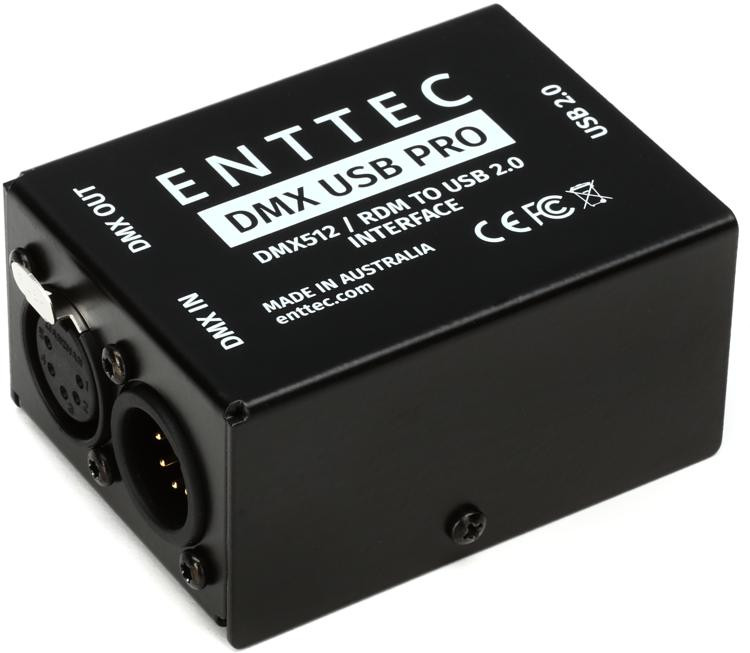 enttec dmx usb pro 512 ch usb dmx interface sweetwater. Black Bedroom Furniture Sets. Home Design Ideas
