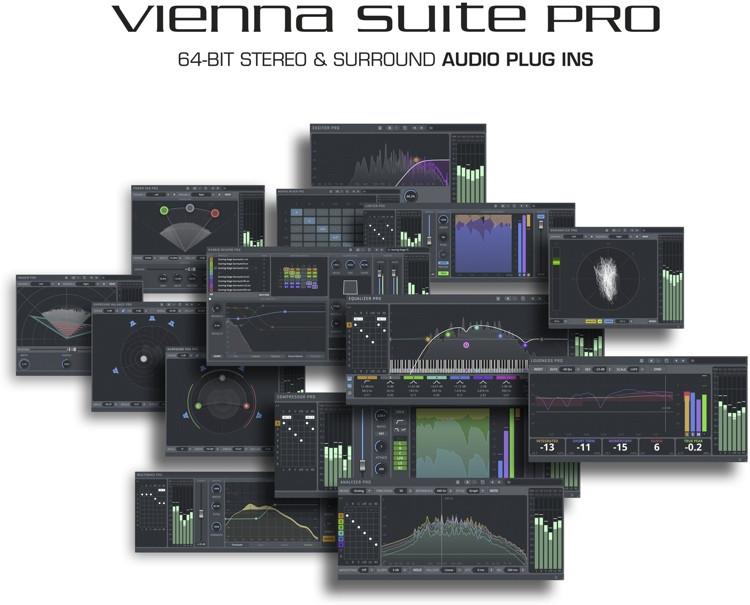Vienna Symphonic Library Vienna Suite Pro Plug-in Bundle image 1