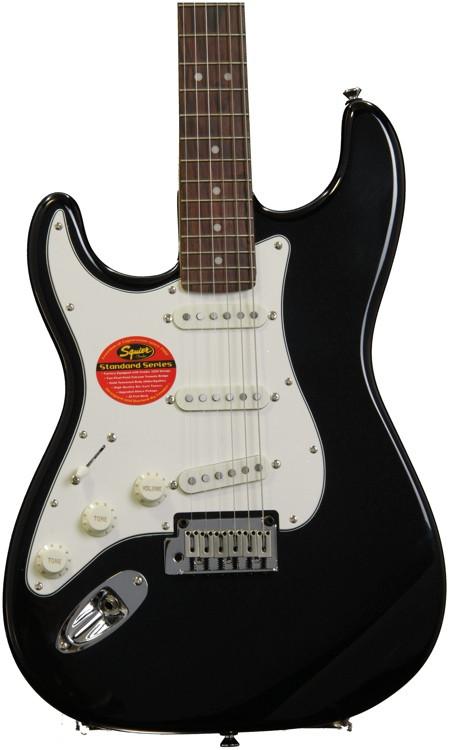 Squier Standard Stratocaster Left-handed - Black Metallic image 1