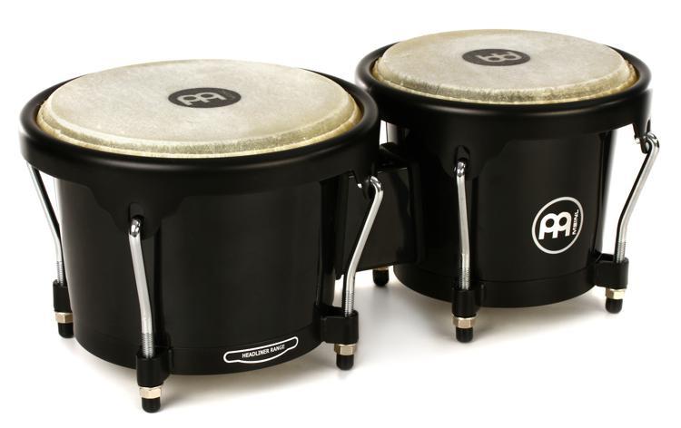 Meinl Percussion Journey Series Bongos - Black image 1