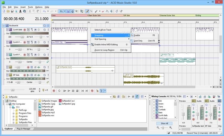 Magix ACID Music Studio 10 (download) image 1