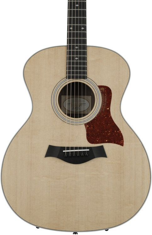 Taylor 214 DLX - Layered Rosewood back and sides image 1