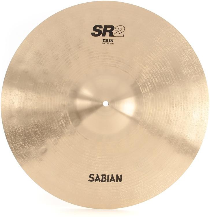 Sabian SR2 Factory Refreshed B20 Bronze Cast Cymbal - 20