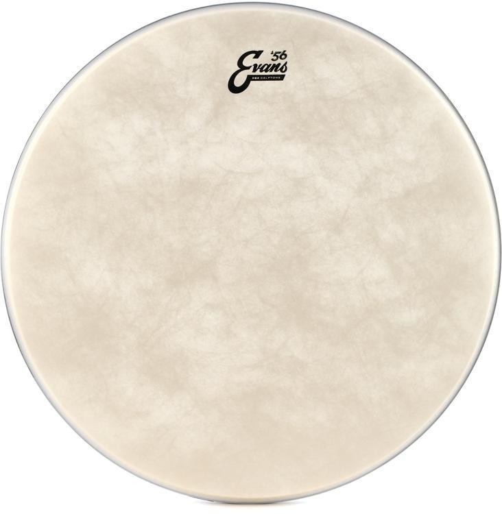 Evans EQ4 Calftone Bass Drumhead - 22