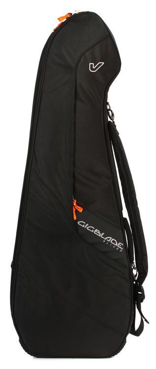 Gruv Gear GigBlade Sliver Slimline Side-carry Electric Guitar Gig Bag - Black image 1