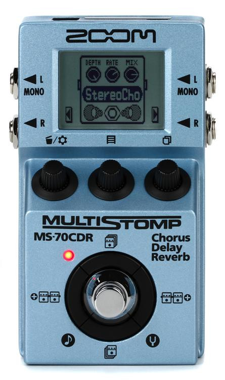 Zoom MS-70CDR MultiStomp Chorus / Delay / Reverb Pedal image 1