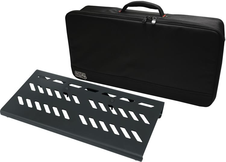Gator Large Aluminum Pedalboard with Bag - 23.75
