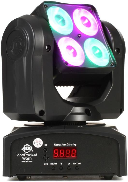 ADJ Inno Pocket Wash 4-LED RGBW Moving-Head Wash image 1