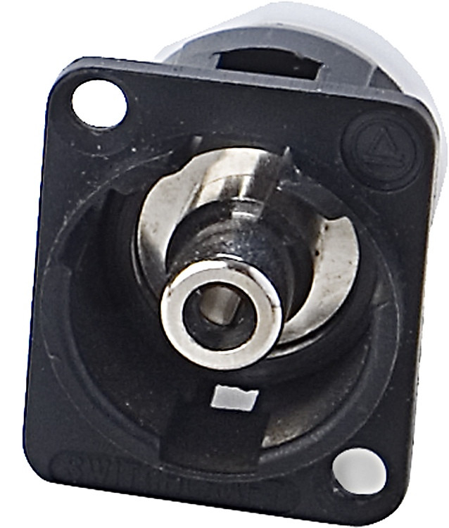 Switchcraft Panel Mount Connector - RCA to BNC image 1