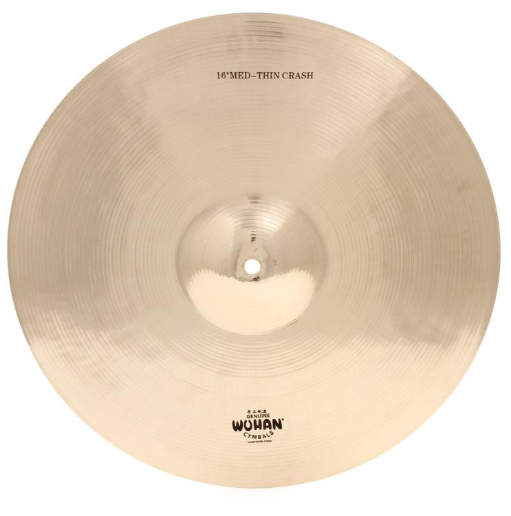 Wuhan Medium Thin Crash Cymbal - 16