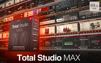 IK Multimedia Total Studio MAX Instruments and Effects Bundle (download) image 1