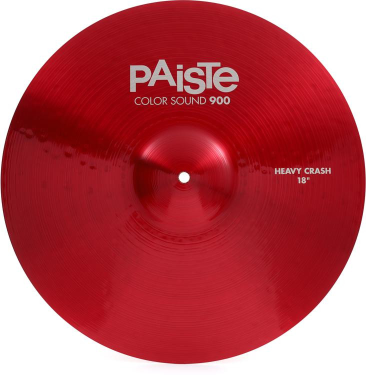 Paiste 900 Series Colorsound Heavy Crash - 18