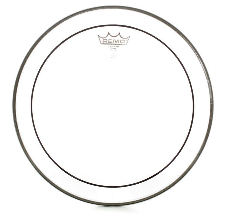 Remo Clear Pinstripe Drum Head - 12