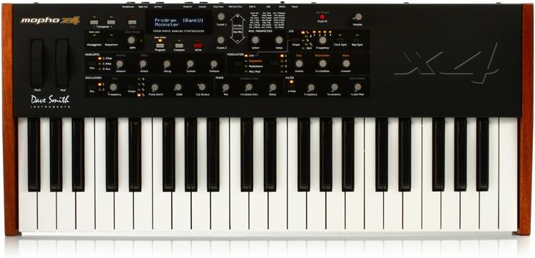 Dave Smith Instruments Mopho x4 4-Voice Analog Synthesizer image 1