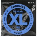 D'Addario ECG25 Chromes Flatwound Light Electric Strings