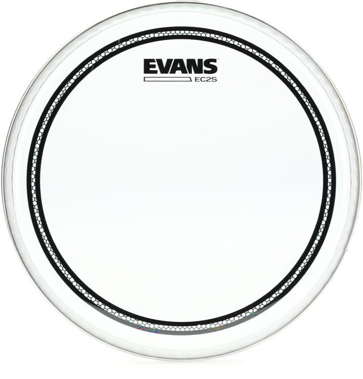 evans ec2 drum head 8 clear sweetwater. Black Bedroom Furniture Sets. Home Design Ideas