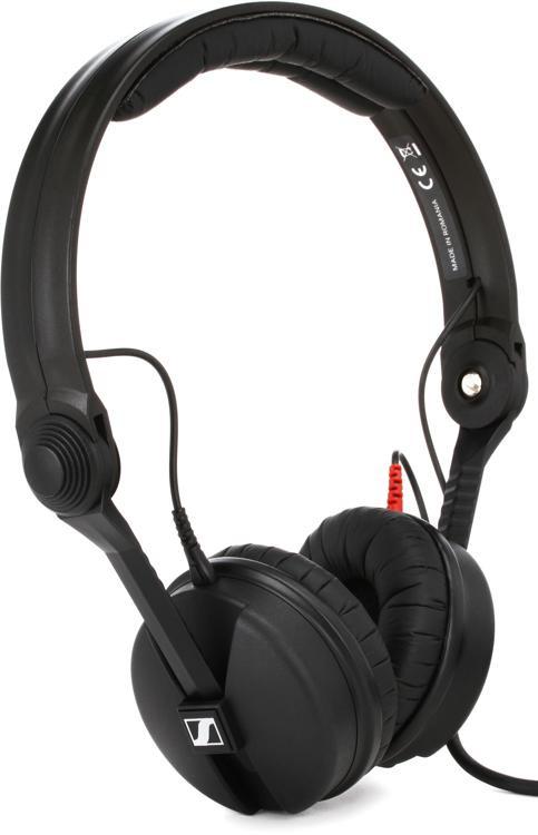 sennheiser hd 25 plus closed back on ear studio headphones sweetwater. Black Bedroom Furniture Sets. Home Design Ideas