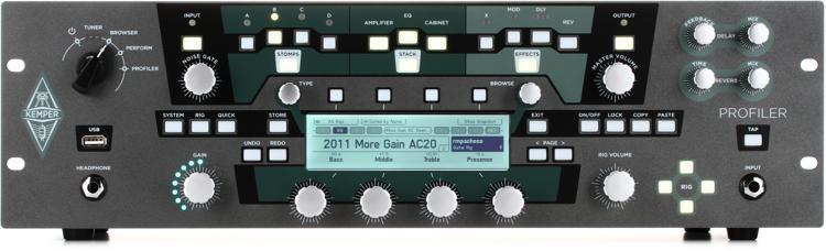 kemper profiler rack rackmount profiling amp head sweetwater. Black Bedroom Furniture Sets. Home Design Ideas
