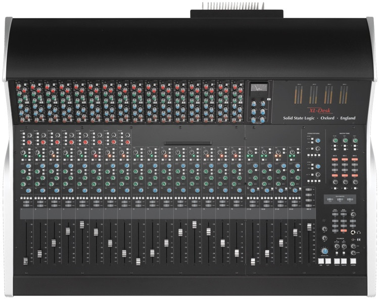 Solid State Logic XL-Desk with 16 x 611EQ E Series EQs image 1