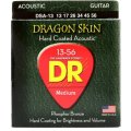 DR Strings DSA-13 Dragon-Skin Phosphor Bronze Medium Heavy Coated Acoustic Strings