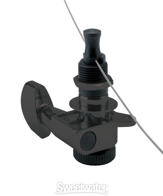 D\'Addario Planet Waves Auto-Trim Locking Tuners - 6-Inline - Black image 1