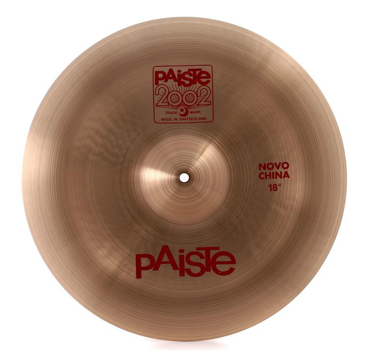 paiste 2002 novo china cymbal 18 sweetwater. Black Bedroom Furniture Sets. Home Design Ideas