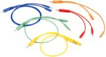 Hosa CMM-500Y-MIX Hopscotch Patch Cables 5-pack - Various Lengths
