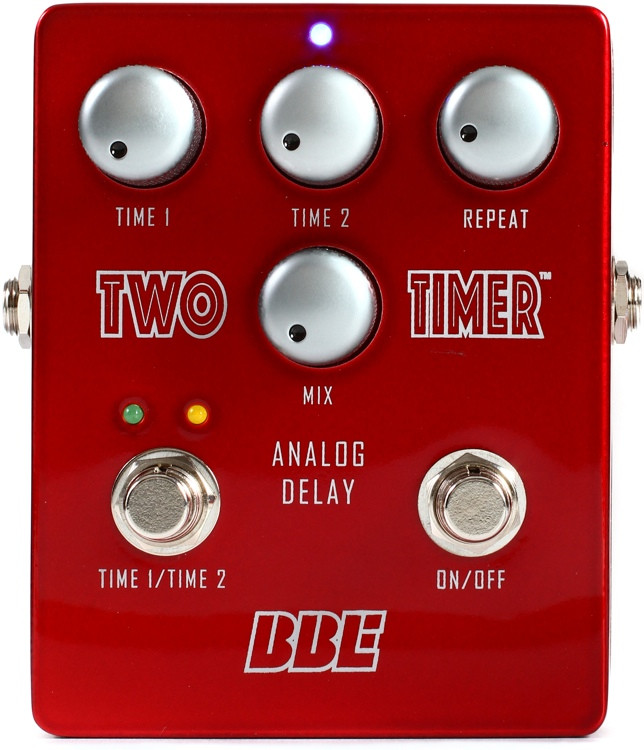 BBE Two Timer Analog Delay Pedal image 1