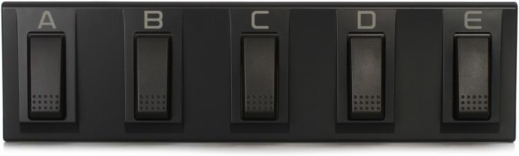 Korg EC5 5-Switch Multi-function Pedalboard image 1