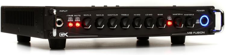 Gallien-Krueger MB Fusion 500-Watt Ultra Light Hybrid Micro Bass Head image 1