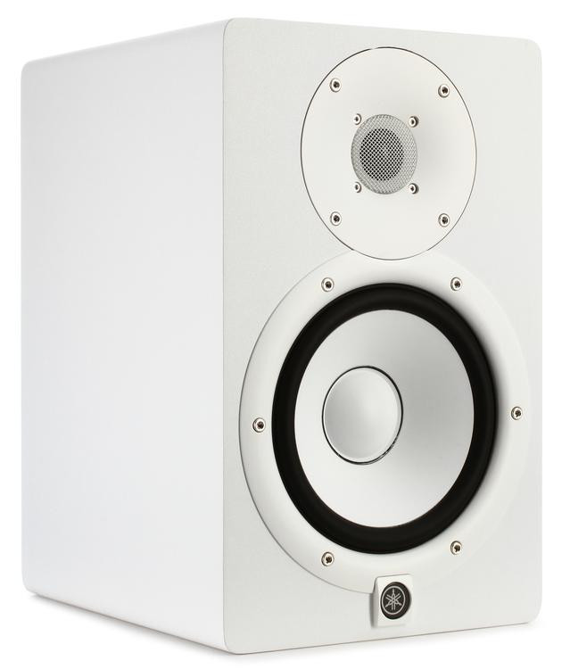 yamaha hs7 6 5 powered studio monitor white sweetwater. Black Bedroom Furniture Sets. Home Design Ideas