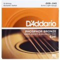 D'Addario EJ41 Phosphor Bronze Extra Light 12-String Acoustic Strings