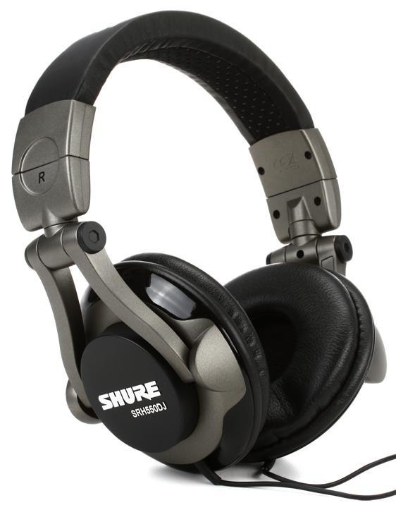Shure SRH550DJ Closed-back Pro DJ Headphones image 1