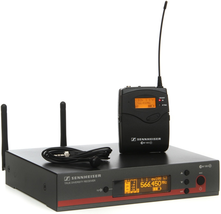 Sennheiser EW 122 G3-G - G Band, 566-608 MHz image 1