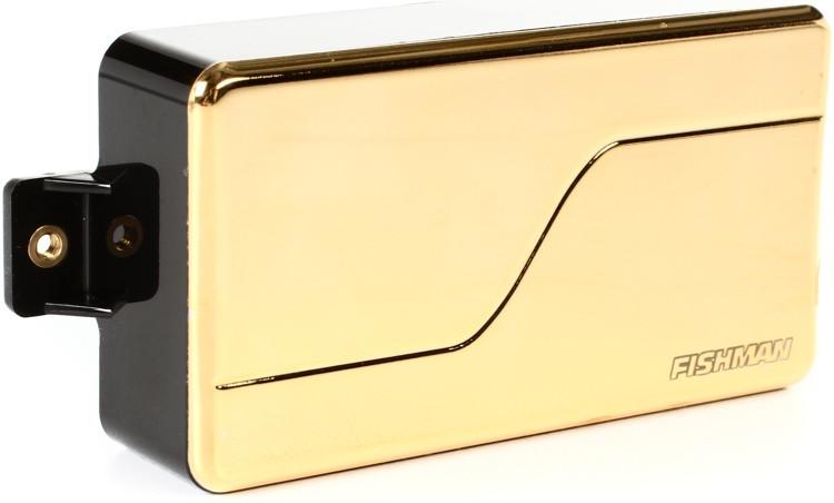 Fishman Fluence Modern Humbucker Pickup Alnico with Gold Cover image 1