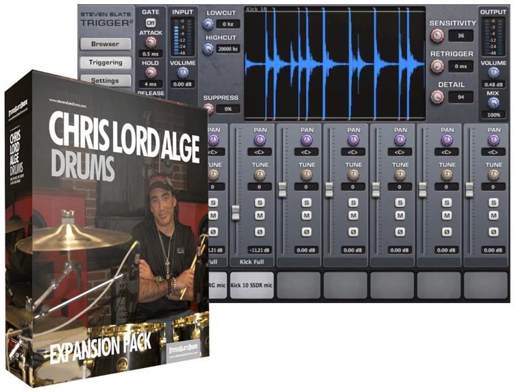 Steven Slate Drums Chris Lord Alge Drums Expansion Pack for Trigger image 1