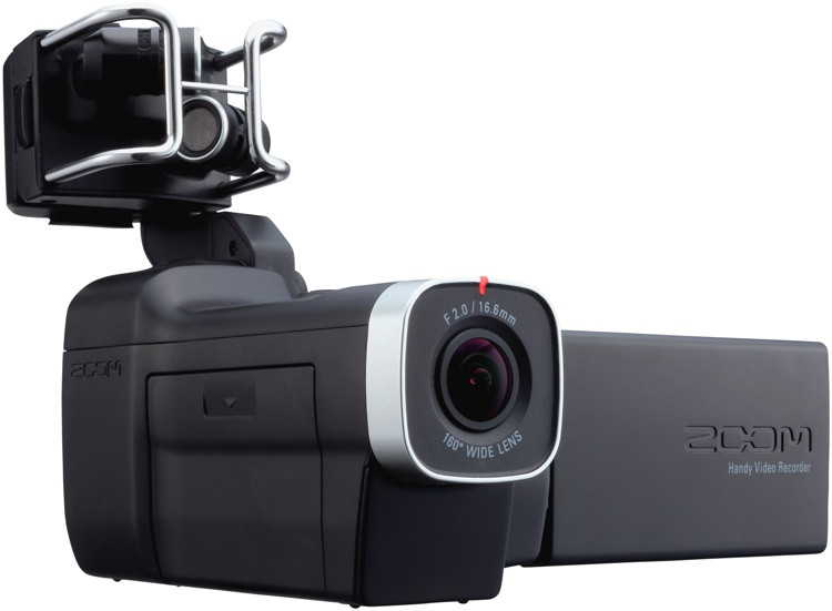 Zoom Q8 2.3K HD Camcorder w/ Interchangeable Mic Capsule System image 1