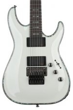 Schecter Hellraiser C-1 with Floyd Rose - Gloss White