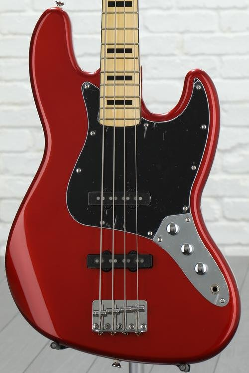 Squier Vintage Modified Jazz Bass '70s - Candy Apple Red
