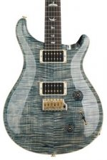 PRS Custom 22 10-Top - Faded Whale Blue with Pattern Neck