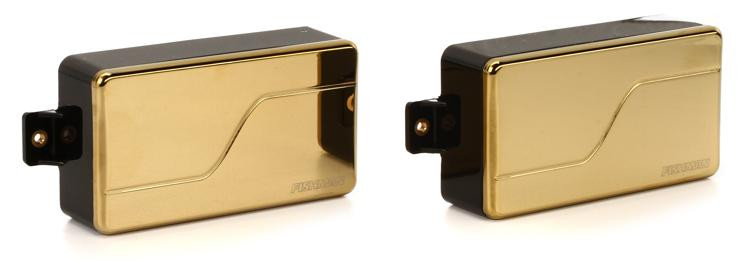 Fishman Fluence Modern Humbucker Pickup Set with Gold Cover image 1
