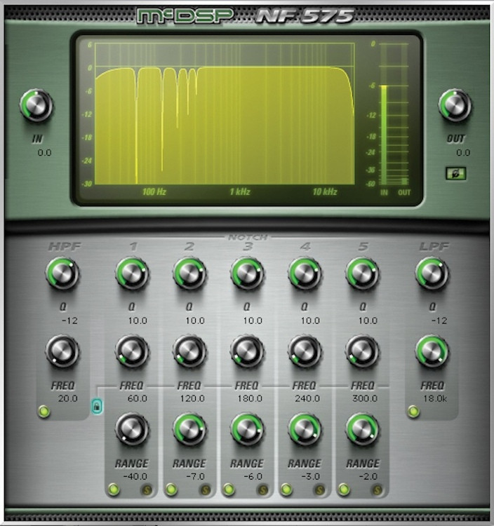McDSP NF575 Noise Filter HD v6 Plug-in image 1
